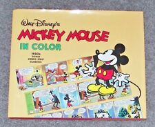 WALT DISNEY'S MICKEY MOUSE IN COLOR (1988) Floyd Gottfredson 1930s Comic Strips