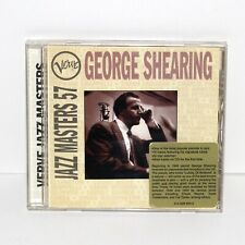 CD GEORGE SHEARING JazzMasters 57 Verve 1996 jazz piano
