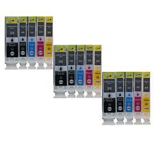 15x PGI-5 CLI-8 Ink Compatible for Canon PIXMA iP4200 4300 4500 5200 MP 500 530