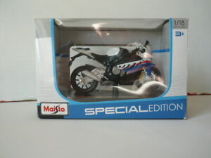 BMW S1000RR Maisto spéciale édition  éch :1/18