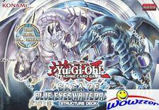 Yugioh Saga of Blue-Eyes White Dragon Factory Sealed Structure Deck 8ct BOX
