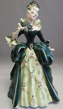 """Vintage Porcelain  Madame Pompadour  12""""1/2 statue Figure by Florence Ceramics"""