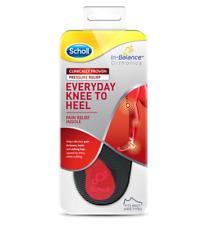 Scholl In Balance Everyday Knee To Heel Pain Relief Insole Medium UK 7 - 8.5