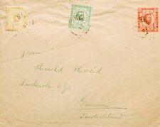 Montenegro, Entero Postal. Sobre Yv 8A, 9A. (1889ca). 5 n rojo sobre Entero Pos