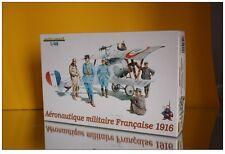 Soldat aéronautique Militaire Français 1916 1/48 Eduard maquette armée Française