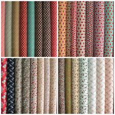 "1 - 2 Metres Less than 45"" Floral 100% Cotton Craft Fabrics"