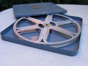 16mm Filmspule (Alu) 600m  in Blechdose