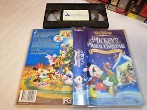 MICKEY'S MAGICAL CHRISTMAS - Rare Australian Edition Disney Classic - ANIMATION