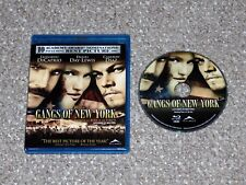 Gangs of New York Blu-ray 2008 Canadian Daniel Day-Lewis Martin Scorsese