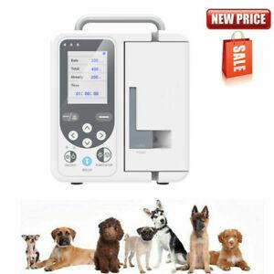 Pompa per infusione veterinaria, uso animale, controllo siringa fluido IV