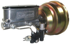 NEW POWER BRAKE BOOSTER & WILWOOD MASTER CYLINDER & PROPORTIONING VALVE,JEEP CJ