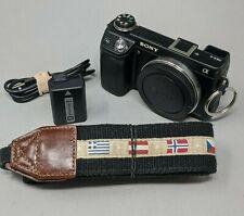 Sony Alpha NEX-6 16.1MP Digital Camera - Black (Body Only) - 3,707 Clicks!