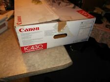Canon PC430 Personal Flatbed copier for parts or repair with original box