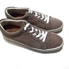 Frye Men's Size 9.5 Brown (Ash) Suede Sneaker Shoe