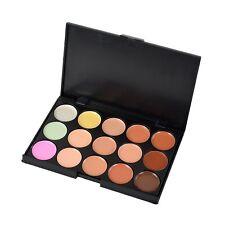 15 Colors Cosmetic Makeup Eyeshadow Facial Concealer Cream Corrector Palette