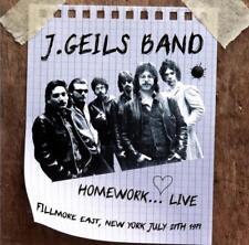 J. Geils Band - Homework...Live: Fillmore East, New York July 27th 1971 (CD) NEW