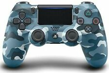Sony PlayStation Dualshock 4 V2 Controller - Blue Camouflage Slightly Damaged