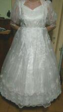 ein Brautkleid/Kostüm in weiß Gr 48/50/52/54