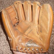Trio Hollander Ted Abernathy Yankee Clipper Baseball Glove - Vintage 31-37