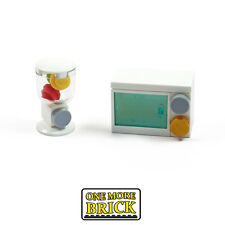 LEGO Kitchen Microwave Oven and Juicer / Juice drinks maker / Blender