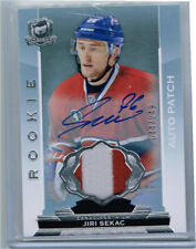 2014-15 UD The Cup Rookie Auto Patch #167 Jiri Sekac #44/249 (2 color patch)