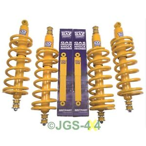 """Land Rover Discovery 1 Suspension +2"""" Lift Kit Coil Spring & Shock Medium Load"""