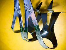 Vintage Campagnolo 50th Anniversary Pedal Toeclips fermapiedi NOS eroica size M