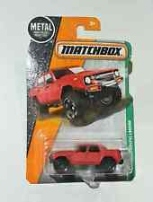 MATCHBOX LAMBORGHINI LM002 Red Long Card 101/125