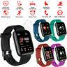 Bluetooth Smart Watch Heart Rate Monitor Blood Pressure Sport Fitness Tracker