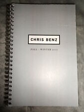 Chris Benz fashion catalog 2007 2008 Fall Lookbook dress coat jacket pants top