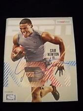 Cam Newton Autographed ESPN Magazine Carolina Panthers Auburn/ JSA