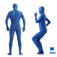 Full BodyBrightLycra Spandex  Zentai Suit Costume Party Skin Tight 7 colors