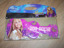 Sealed Pack of 8 Disney Store Hannah Montana Guitar Thank You Cards New