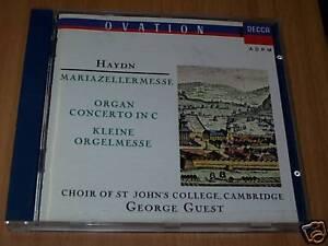 CD-HAYDN-MARIAZELLERMESSEORGELMESSE-GUEST-DECCA-1990