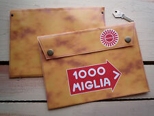 Mille MIGLIA 1000 rally style manuel sac titulaire de document toolbag RALLYE