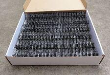 "19mm(3/4"") TWIN LOOP BINDING WIRE 2:1 Box of 50 - Black/White/Silver/Gol"