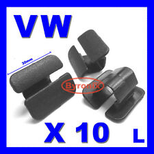 VW BONNET HEAT INSULATION COVER LINING TRIM CLIPS GOLF POLO PASSAT VENTO X10
