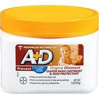 A+D Original Diaper Rash & Skin Protectant Ointment 16 Oz