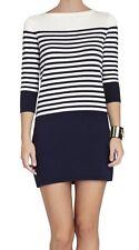 New with tag $198 BCBG Max Azria Ethel Striped Color-Block B1106 Dress Sz L