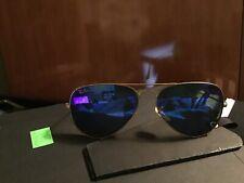 Ray-Ban Aviator Flash Sunglasses RB3025 112/4L 58-14 Blue Flash