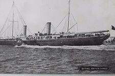 27371 PC Ostende Sortie de la Malle Ship AK Dampfer Schiff um 1930