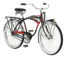 Schwinn Black Phantom Cruiser Bike, single speed, 26-inch wheels 125 Anniversary