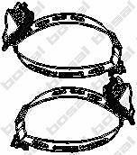 Halter Abgasanlage BMW - Bosal 254-980