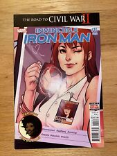 Invincible Iron-Man 10  Second Print 2016 Bendis 💥Hot Item☄️