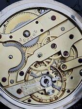 Vacheron & Constantin silver pocket watch c1895