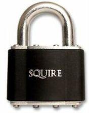 Henry Squire 37 Stronglock Padlock Open Shackle 45mm 10 yr warranty shed bnib