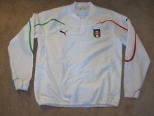 Italy Italian Soccer Long Sleeve Jersey-Adult XL-Puma