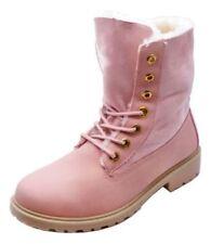 Calzado de mujer botines rosas sin marca