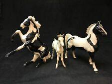 "Vintage Hartland Horse Figures/Toys, 9.5"" Rearing Stallion, Mare, Foal | 23490"