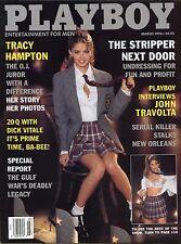 Playboy Magazine March 1996 Tracy Hampton / The Stripper Next Door
